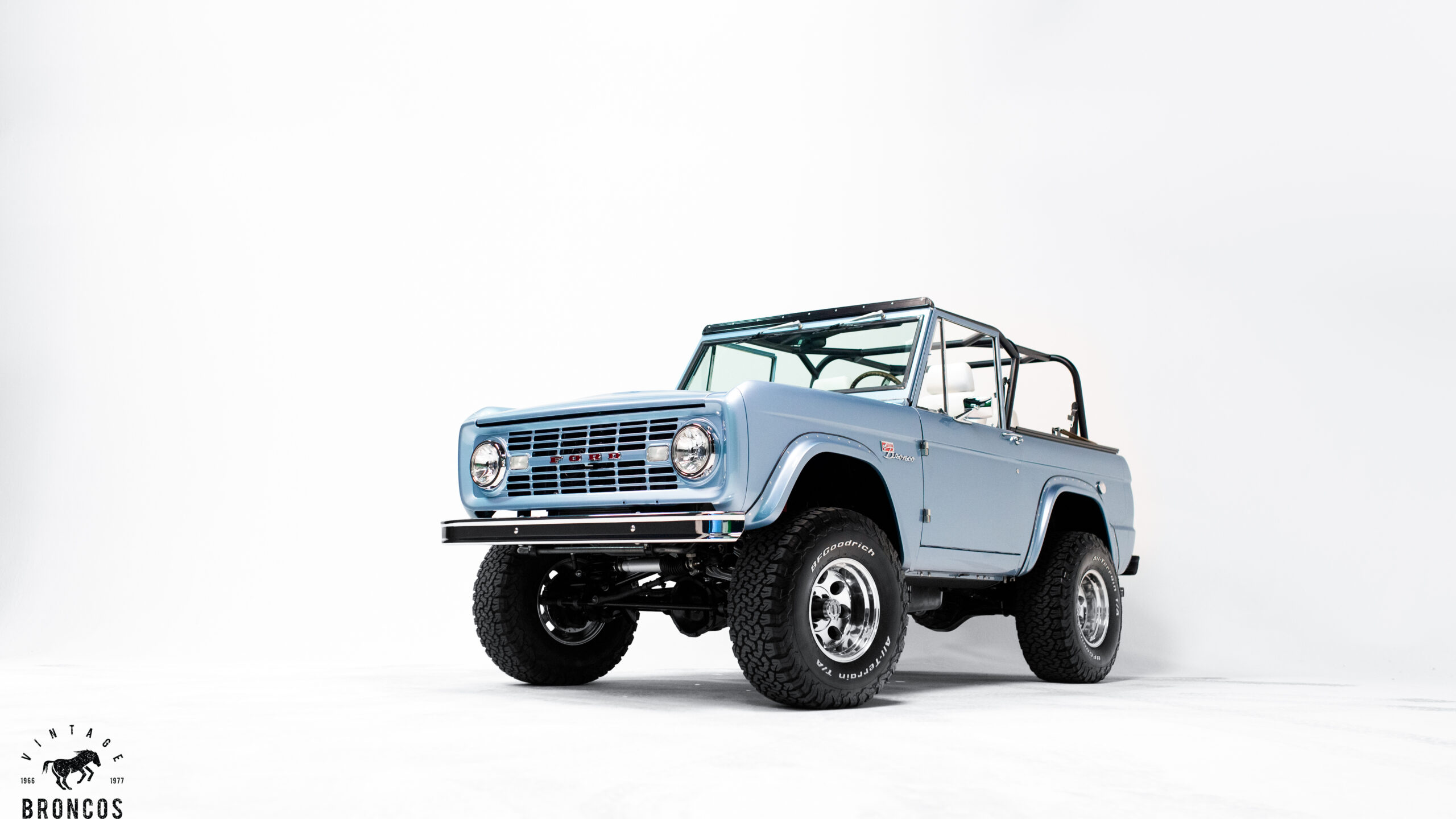 Brittany Blue Ford Bronco